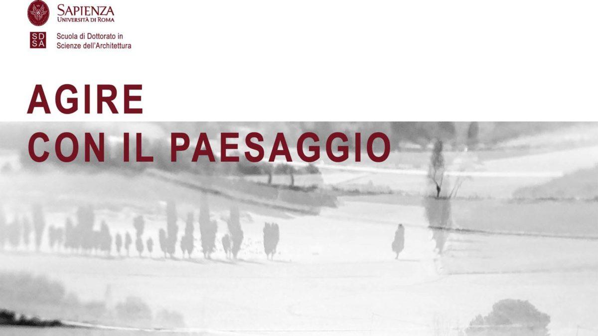 AGIRE CON IL PAESAGGIO