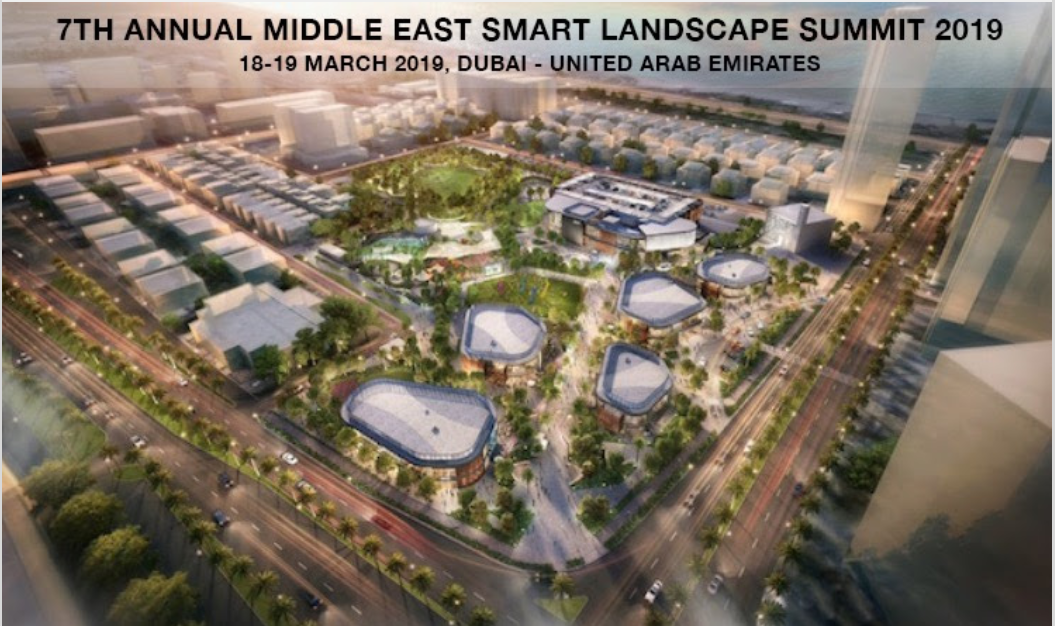 7TH ANNUAL MIDDLE EAST  SMART LANDSCAPE  SUMMIT 2019