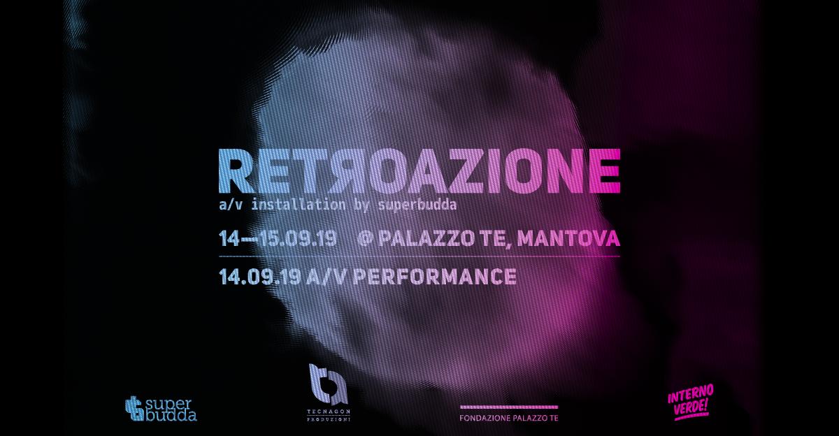 RETROAZIONE: A Palazzo Te la performance dei SUPERBUDDA
