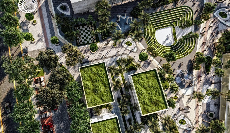 Mixed Use Urban Scheme Development for Cairo – Mohamed Omar El Sharkawy