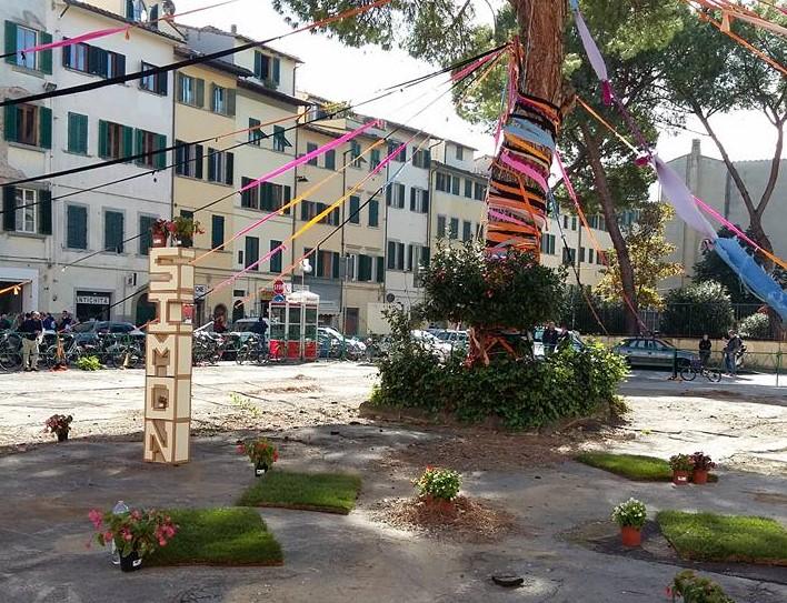 Greening Ciompi Square: Ricordo di un'azione paesaggistica