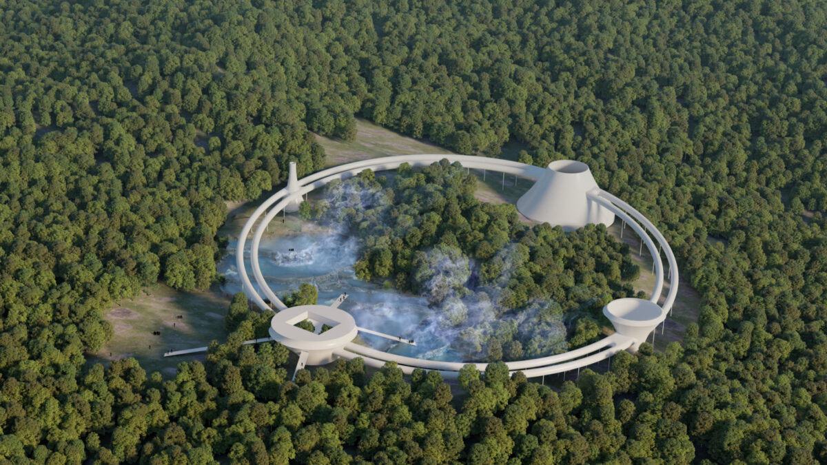 Water cycle for a new geothermal park – O+A|Ori Arienti